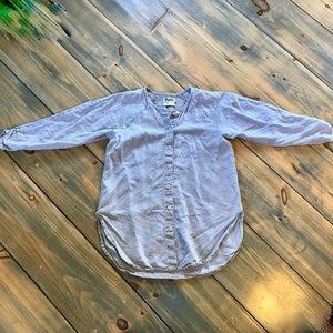 Flax linen tunic